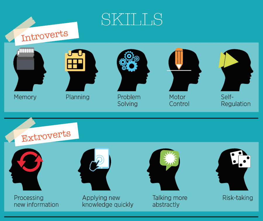 Introvert and Extrovert Skills