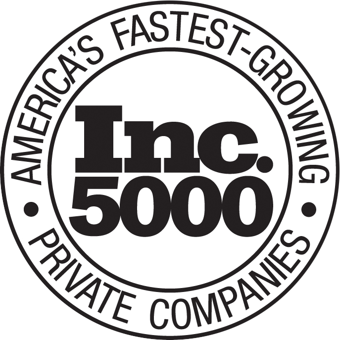 [Inc. 5000 - Fastest Growing Private Companies Logo]