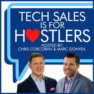 Tech Sales is for Hustlers Podcast Cover Art